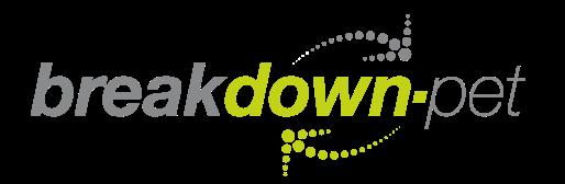 Breakdown PET logo